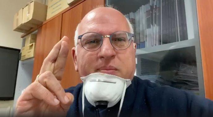 coronavirus professor Paolo Antonio Ascierto foto free Facebook de laurentiis Campania