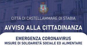 emergenza covid-19 castellammare foto free avviso
