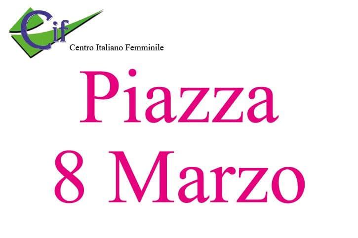 la piazza 8 marzo a castellammare