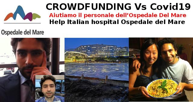 CROWDFUNDING Vs Covid19 Aiutiamo il personale dell'Ospedale Del Mare