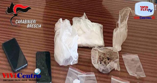 Carabinieri Brescia, sequestro droga a Gambara (BS), Mairano