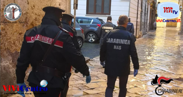 Carabinieri NAS e Carabinieri, controllo sul territorio