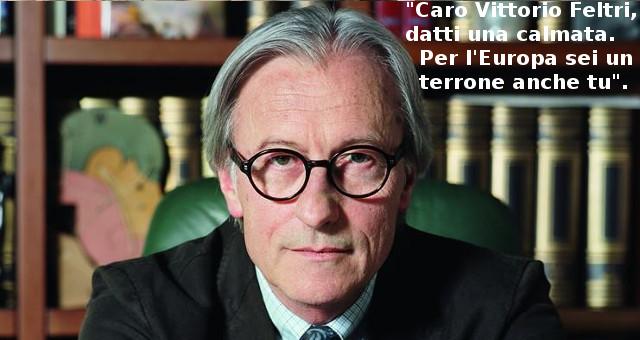 I sudisti italiani: Caro Vittorio Feltri, datti una calmata