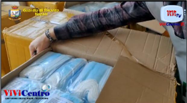 Operazione Anti Covid-19: sequestrate 116.000 mascherine non conformi