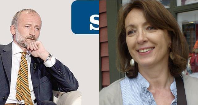 Ispezioni RSA: Mattia Feltri (foto da suo FB) e Sandra Zampa (foto istituzionale)