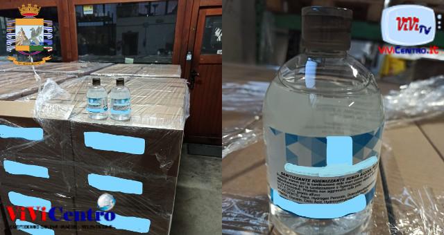 Suzzara (MN), frode in commercio di gel scoperta dalla GdF
