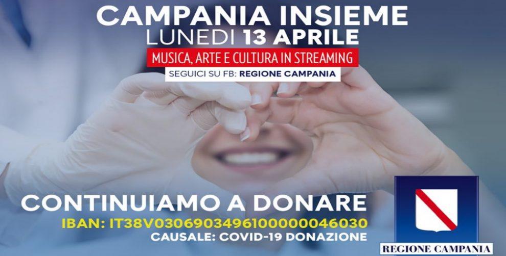 campania cultura raccolta fondi streaming foto free facebook