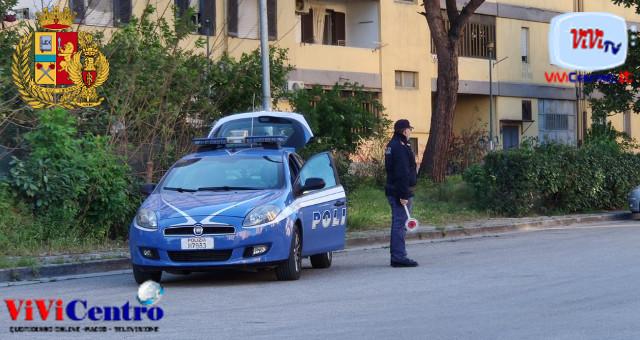 polizia, controllo disordini in centro
