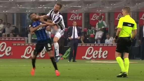 Napoli Juventus Fallo Pjanic Rafinha
