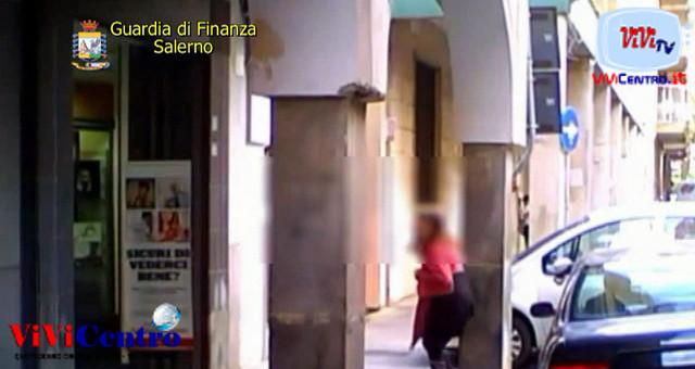 Falsa cieca scoperta dalla GdF di Salerno