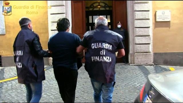 GDF Roma- Arresto narcotrafficanti, operazione OPIUM
