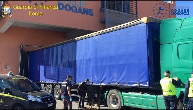GDF Roma- Porto Civitavecchia, arresto narcotrafficante