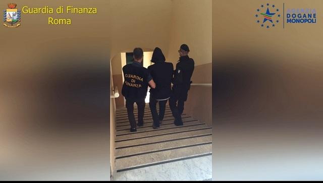 Arresto narcotrafficante Civitavecchia