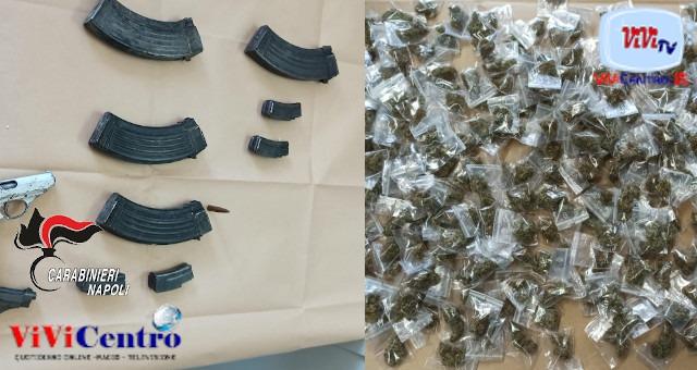 Maxi sequestro dei Carabinieri: droga armi al Parco Verde