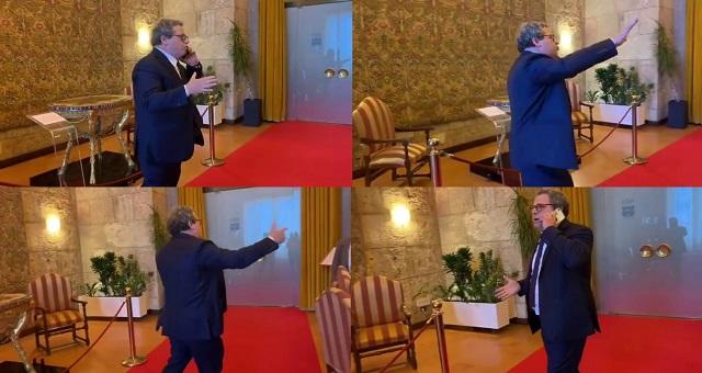 Presidente Gianfranco Micciché manifesta il suo sdegno