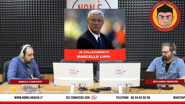 AsRoma-Intervista a Marcello Lippi di Non è la Radio