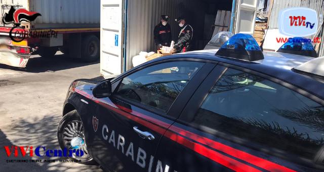 Carabinieri danno esecuzione a ordinanza di custodia cautelare
