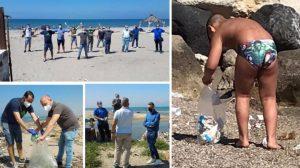 volontari campania bambino pulisce christian castellammare foto free facebook 1