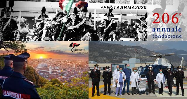 206° ANNUALE DELLA FONDAZIONE DELL'ARMA DEI CARABINIERI ANCHE A BS