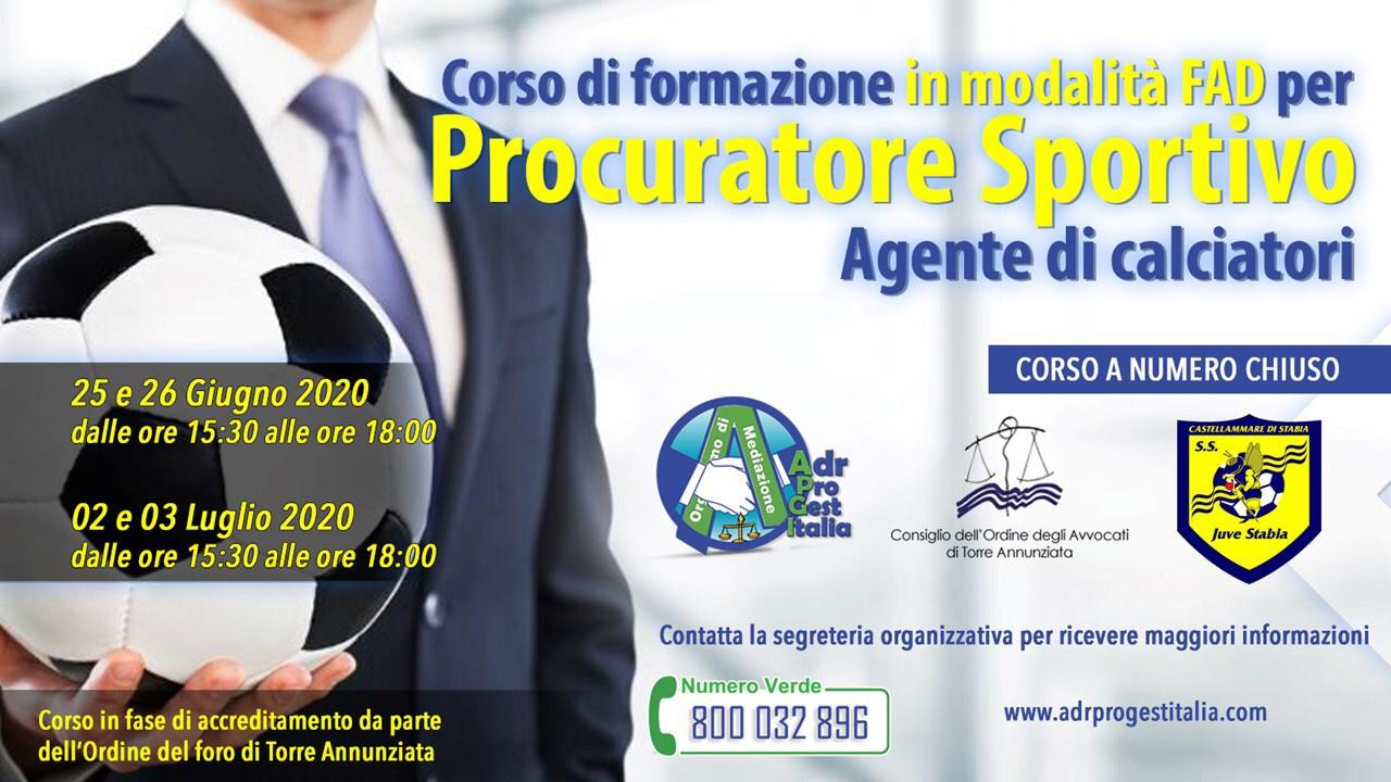 ADR PRO GESTITALIA Procuratore Sportivo