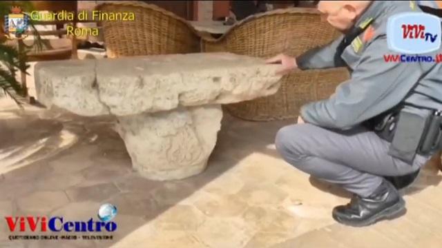 GDF Roma- reperti archeologici Anagni