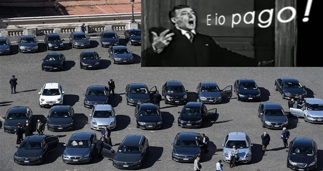 Aumentano le auto blu. Hanno risposto al censimento 2019, 8.366 Enti