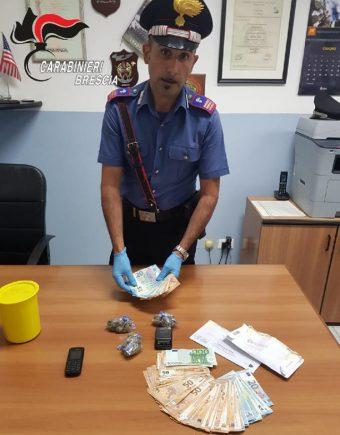 Carabinieri Esine (BS), controllo spaccio