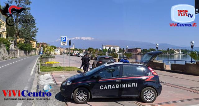 Carabinieri, pattuglia a Salò (BS) VIOLENZA SESSUALE
