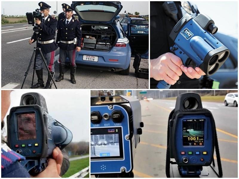 Telelaser TRUCAM, di ultima generazione, dotato di videocamera