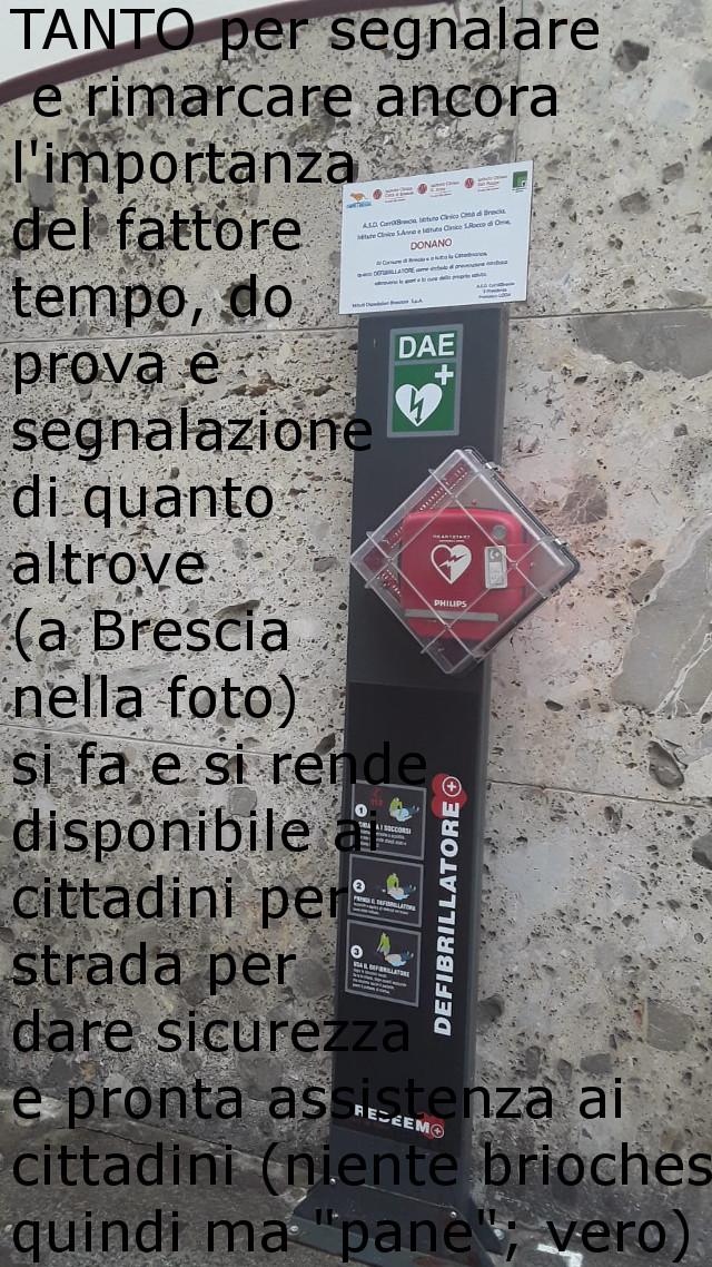 Defibrillatore a Brescia
