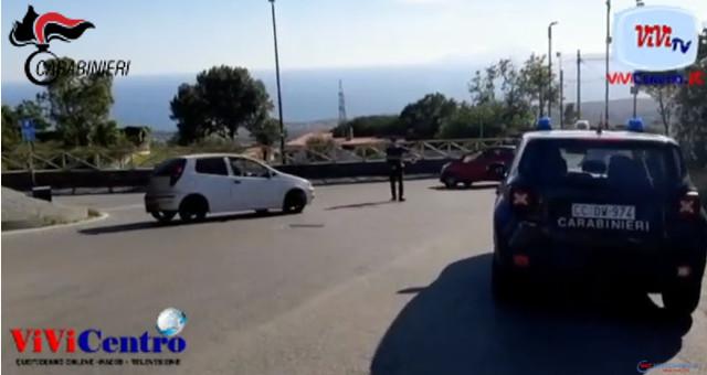 Ercolano, erano l'incubo delle coppiette, 4 rapinatori fermati dai Carabinieri