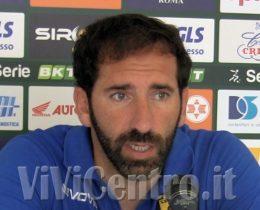 Fabio Caserta - Juve Stabia conferenza del 25-06-2020