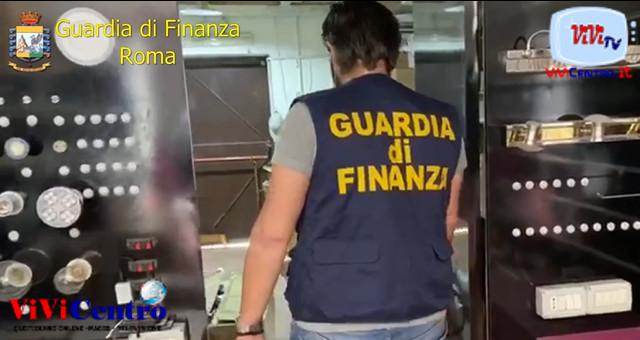 Arresto Ciarlante -Gdf Roma, articoli non sicuri sequestrati
