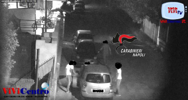 I Carabinieri spiazzano piazza di spaccio a Caivano località Pascarola