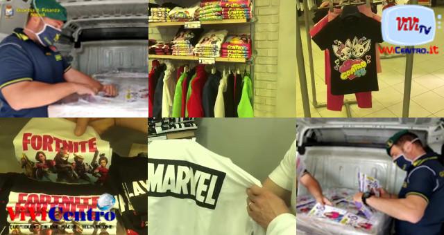 GdF Napoli sequestrati libri di fiabe e capi di abbigliamento contraffatti