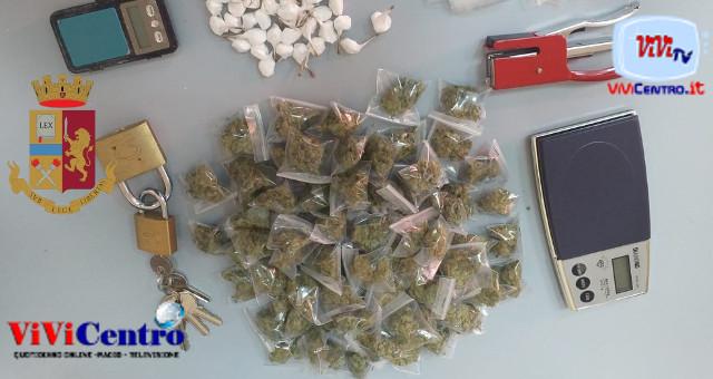 Secondigliano: arrestato un 20enne per droga durante controlli sul territorio