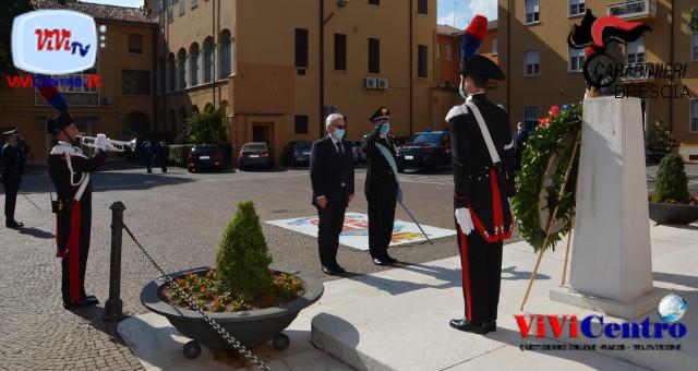 Il Prefetto di Brescia, all'odierna cerimonia 206° CC