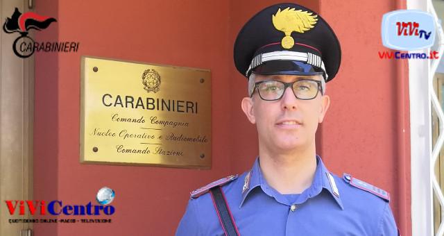 Maresciallo Capo Alessandro Curcio, comandante CC di Desenzano del garda
