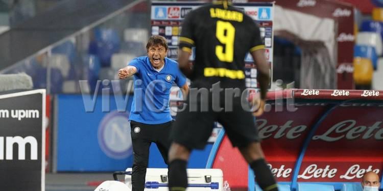 Napoli - Inter COPPA ITALIA 2019-2020 (10) Lukaku - Cannonieri