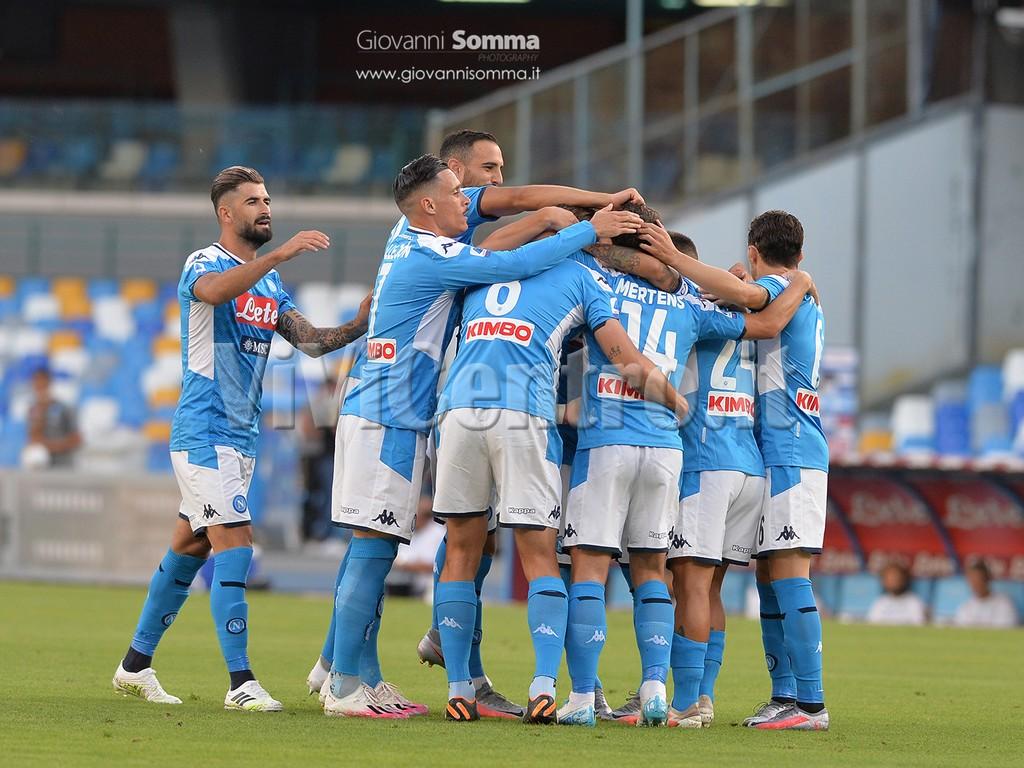 Napoli Spal 3 1 Calcio Serie A 4