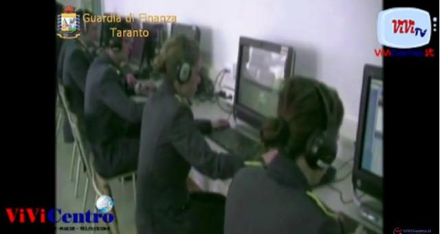 Operazione Gipsy Fuel, Guardia di Finanza Taranto