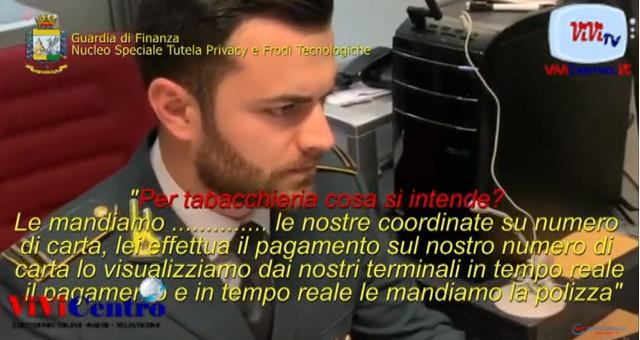 POLIZZE TRUFFA, SMANTELLATA RETE DI FALSI BROKER ASSICURATIVI RC AUTO ONLINE