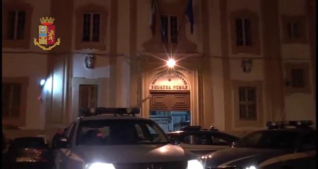 Polizia di Stato di Palermo ha ricostruito l'organigramma