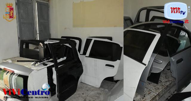 Polizia San giuseppe vesuviano, trovate auto rubate