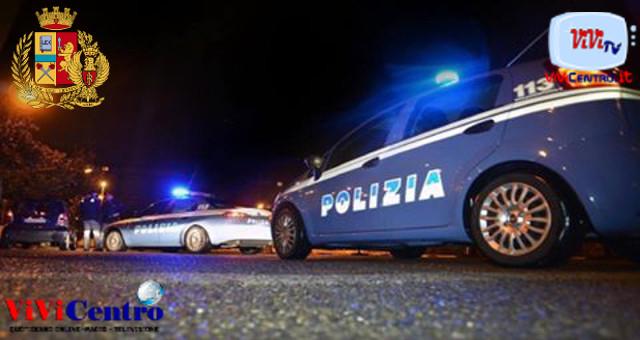 Polizia di Stato, controllo in piazza