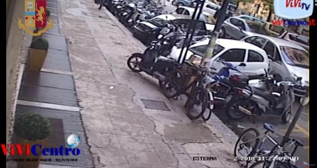 Squadra Mobile di Palermo ha eseguito una custodia cautelare nei confronti di tre professionisti della rapina
