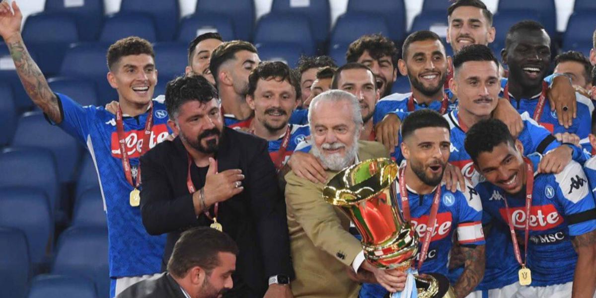 gattuso vittoria coppa italia foto free twitter conferenza