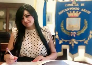 sant-antonio attività ilaria abagnale sindaco sindaca sant antonio abate foto free facebook castellammare città carabiniere