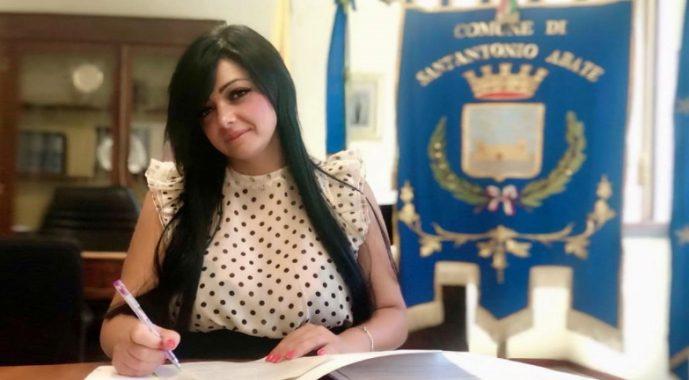 attività ilaria abagnale sindaco sindaca sant antonio abate foto free facebook castellammare città carabiniere