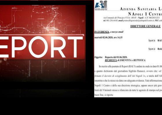 report richiesta smentita asl napoli 1 foto free facebook